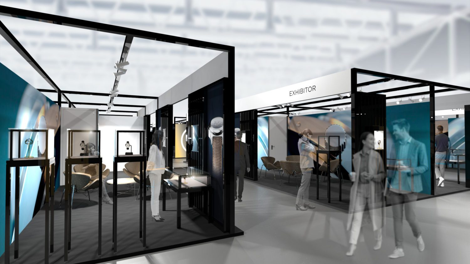 Three types of stand area will offer everyone a customizable and optimized space to ensure good cost control.